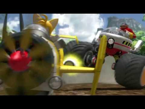 Sonic & SEGA All Stars Racing (PS3, 360, Wii, DS) Trailer #1