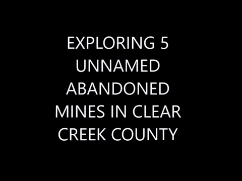 Exploring 4 Unnamed Abandoned Mines Full Of Danger!