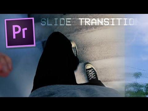 Premiere Pro CC Tutorial: Smooth Push Slide Transition Effect (w/ Motion Blur) (How to / 2017)