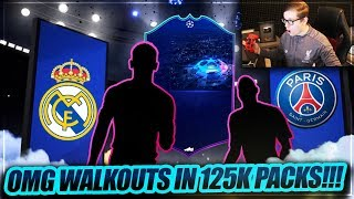 FIFA 19: PACKLUCK IN DEN 125K TOTGS PACKS! PACK OPENING 🔥🔥 FIFA 19 Ultimate Team of the Groupstage