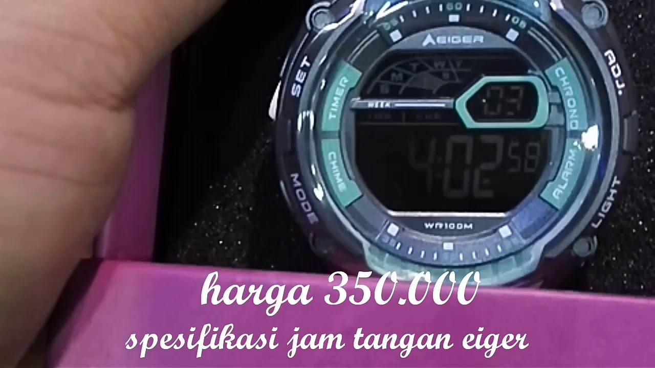 Review Spesifikasi Jam Tangan Eiger Di Bandrol Harga 350000 Youtube Touch Screen