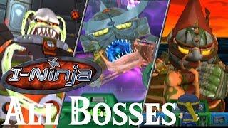 I-Ninja // All Bosses