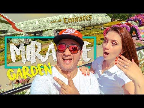 Dubai Miracle Garden 2018 | Dubai Vlogger | Tour Travel Tips Your Videos on VIRAL CHOP VIDEOS