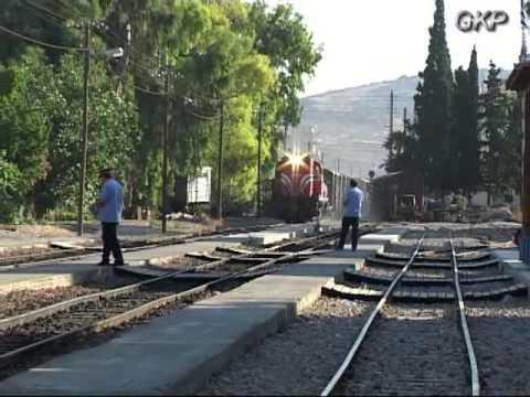 NARROW GAUGE TRAINS BETWEEN N PERAMOS & KAKIA SKALA 1999 2004