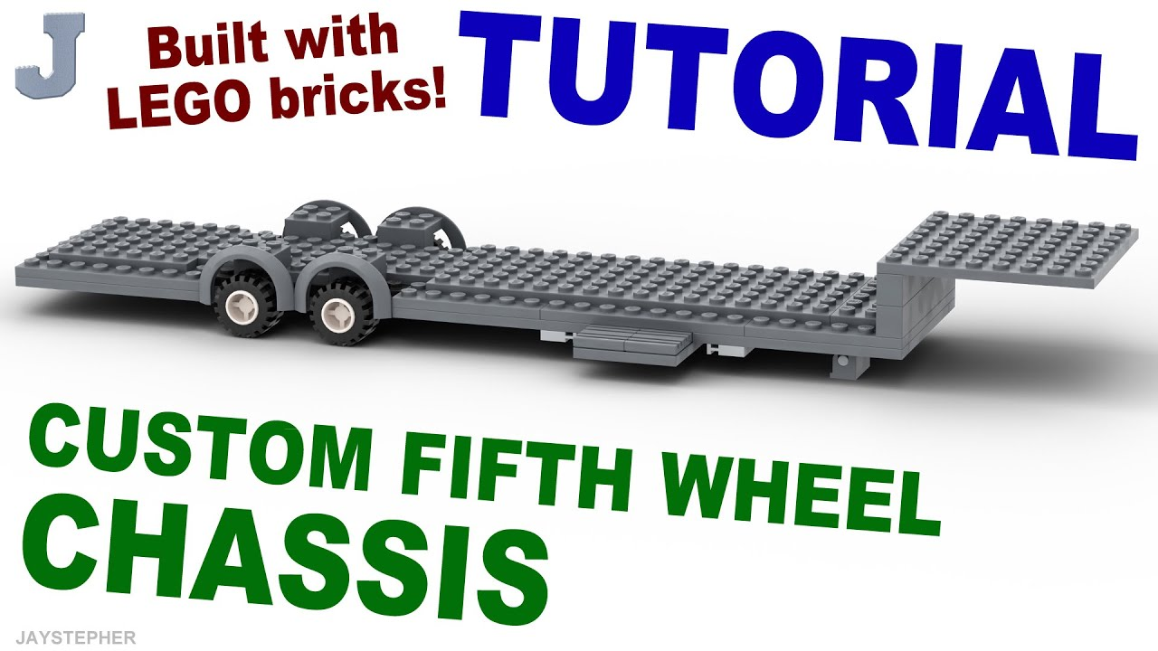 Tutorial - LEGO Fifth Wheel Chassis (1 - 12) How To - YouTube