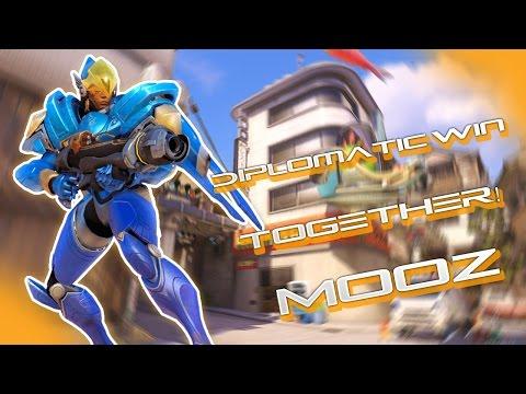 Lets Play Overwatch Deutsch - Together mit MooZ!! - Overwatch Gameplay German!