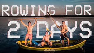 48 HOUR ROWING CHALLENGE │ 120km across THE LONGEST LAKE in Finland!