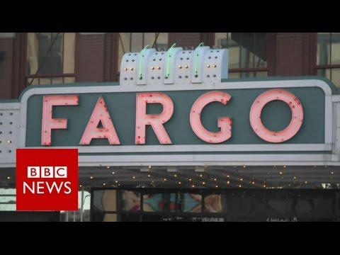 Abortion battles on the streets of Fargo - BBC News