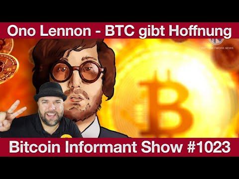 #1023 Letzte Marktbereinigung vor BTC ATH, John Lennon's Sohn Bitcoin Hoffnung & IOTA und Pantos
