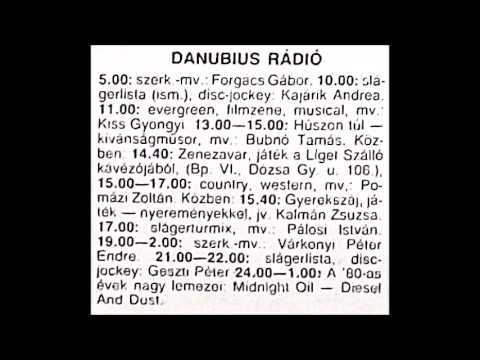 A 80-as évek nagy lemezei. Szerkesztő: Várkonyi Péter Endre. 1991.03.03. Danubius rádió. 24.00-1.00.