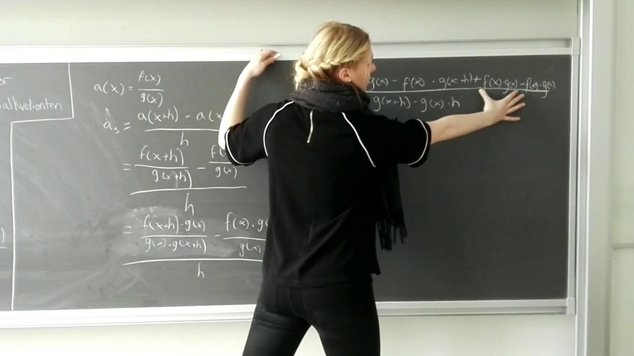 Eksamensspørgsmål   differentialregning