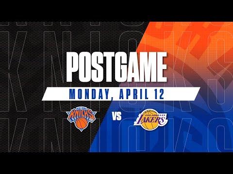 Knicks Media | Postgame - 4/12/21
