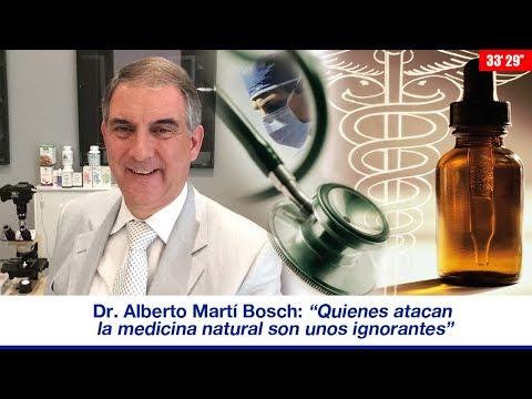 """DR. ALBERTO MARTÍ BOSCH: """"QUIENES ATACAN LA MEDICINA NATURAL SON UNOS IGNORANTES"""""""