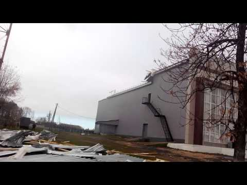 Ураган р.п. Красные Баки Нижегородская область 3 октября 2015