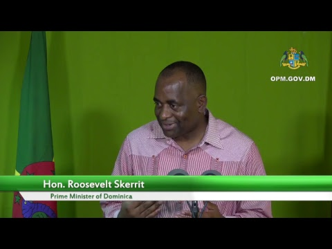 Joint Press Briefing: Dominica PM and UN Secretary-General