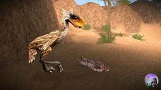 Carnivores Ice Age | Titanis and Doedicurus Hunting