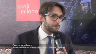 Scali Milano al Fuorisalone. Video Intervista di PPAN a Pierfrancesco Maran, Assessore Comune Milano