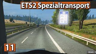 ETS2 SPEZIALTRANSPORT 🚚 Auf nach NÜRNBERG ► #11 Euro Truck Simulator 2 DLCs deutsch