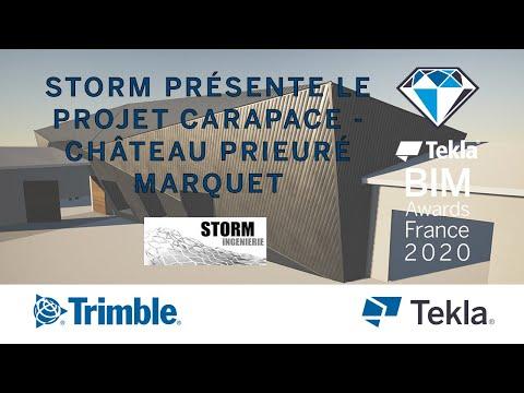 STORM présente le projet CARAPACE - CHÂTEAU PRIEURÉ MARQUET