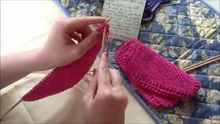 Prettier Knitted Dishcloth Tutorial: Decreasing Thumbnail
