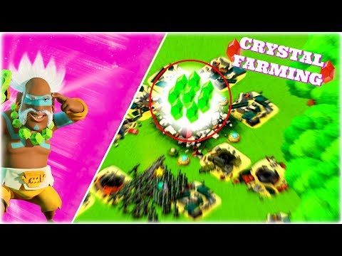 How To FARM CRYSTALS In Boom Beach!