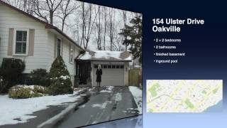 Oakville Real Estate Bronte 154 Ulster Drive