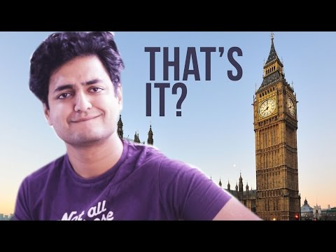 Kenny London Vlog : WHY ARE PLACES SO CLEAN | BIG BEN IS NOT AS IMPRESSIVE