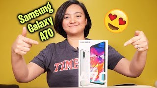 Samsung Galaxy A70 Unboxing - I fell in love with it
