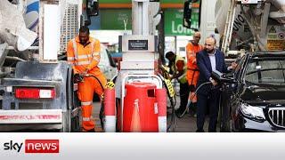 Petrol price hits a record 142.94p per litre