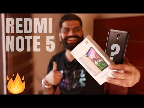 Xiaomi Redmi Note 5 Unboxing and Giveaway 🔥🔥🔥