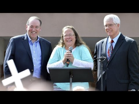 Law Firm Representing Bigot Kim Davis Declared a Hate Group