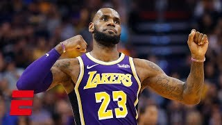 LeBron James leads the Los Angeles Lakers to their first win of the 2018-19 season | NBA Highlights