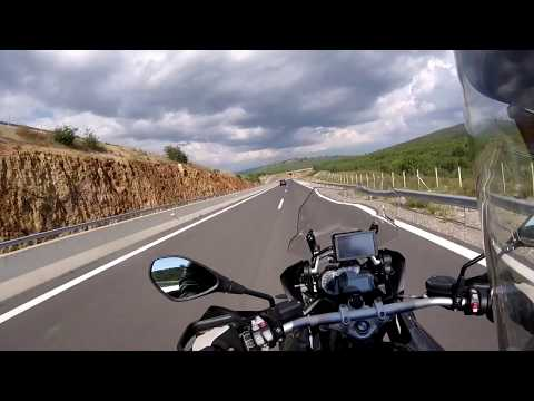 BMW 1200GS Triple Black. Athens To Sparta, Greece!