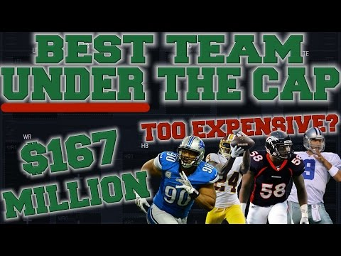 The Best Team Possible Under The Salary Cap