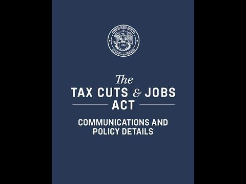 Tax cuts and job acts是美其名曰还是实事求是