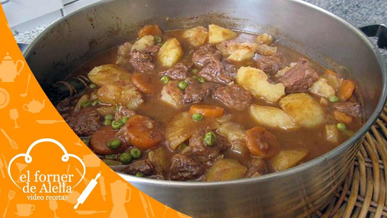 Estofado de carne con patatas y guisantes youtube - Guiso de carne de cerdo ...