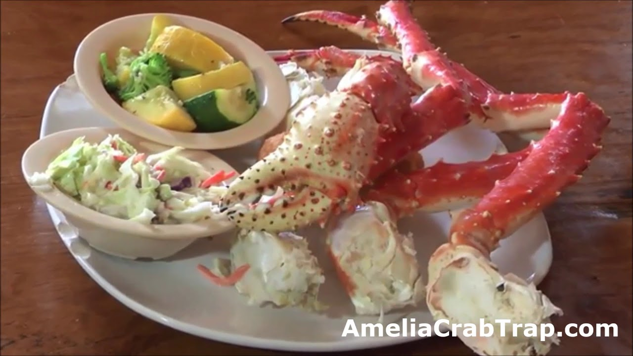 The Crab Trap Seafood Restaurant In Amelia Island Florida