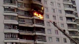 Пожар на Дзержинского город Нижневартовск 01.06.11 .mp4
