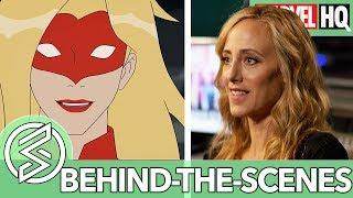 Who is Captain Marvel? With Kim Raver | Marvel Rising: Secret Warriors | FEATURETTE