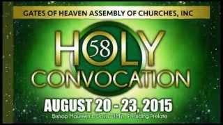 2015 Gates of Heaven Assembly of Churches Holy Convocation