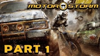 MOTORSTORM Part 1 - Eine Busfahrt die ist lustig (FullHD) / Lets Play Motorstorm