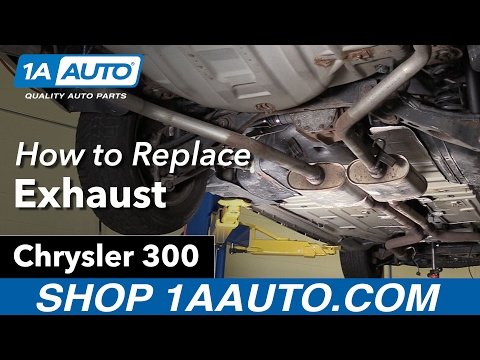 How to Replace Exhaust 05-10 Chrysler 300