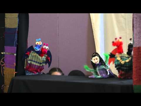 Puppets of Glory at Worc Library