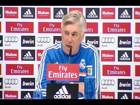 Ancelotti asegura que el Real Madrid saldrá a ganar