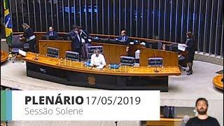 Plenário - Sessão solene - 17/05/2019 15:00