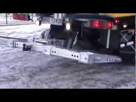 Zabudowa Hydrauliczna Produkcji Eurolift Z Najazdami Na Samochodzie Man 26dmc