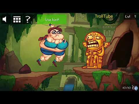 Troll Face Quest Video Games 2 Level 3 Walkthrough   Room Escape
