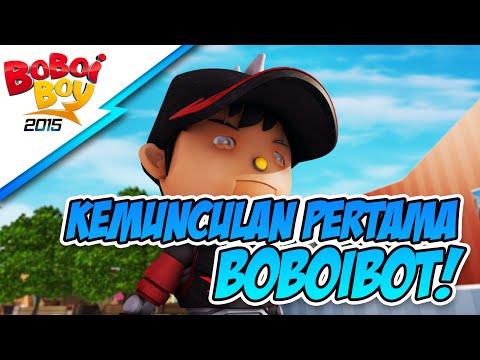 BoBoiBoy: Kemunculan Pertama BoBoiBot! HD
