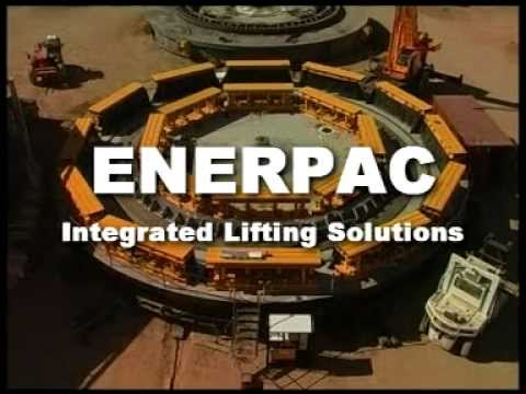 Synchronous Lifting Solution for a Mining Dragline | Enerpac Heavy Lifting Technology