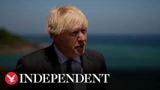 Boris Johnson: We must be 'cautious' over June 21 lockdown easing